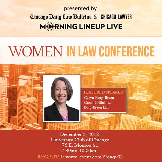 Caryn Borg-Breen to Speak at Chicago Women in Law Conference