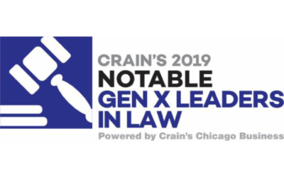 Crain's Names Co-founder Borg-Breen a 2019 'Notable Gen X Leader in Law'