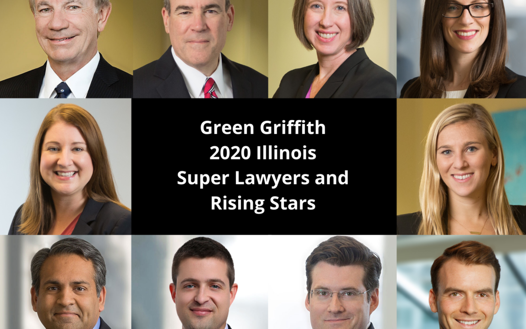 Super Lawyers Recognizes Green Griffith Award-Winning Attorneys