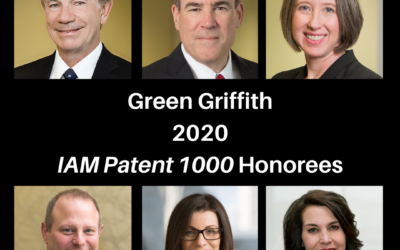 Green Griffith, Six Partners Recognized in IAM Patent 1000