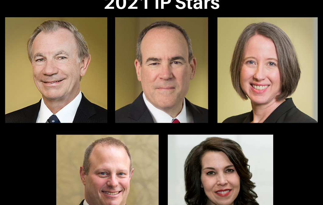 Five Green Griffith Partners Recognized as 2021 IP Stars