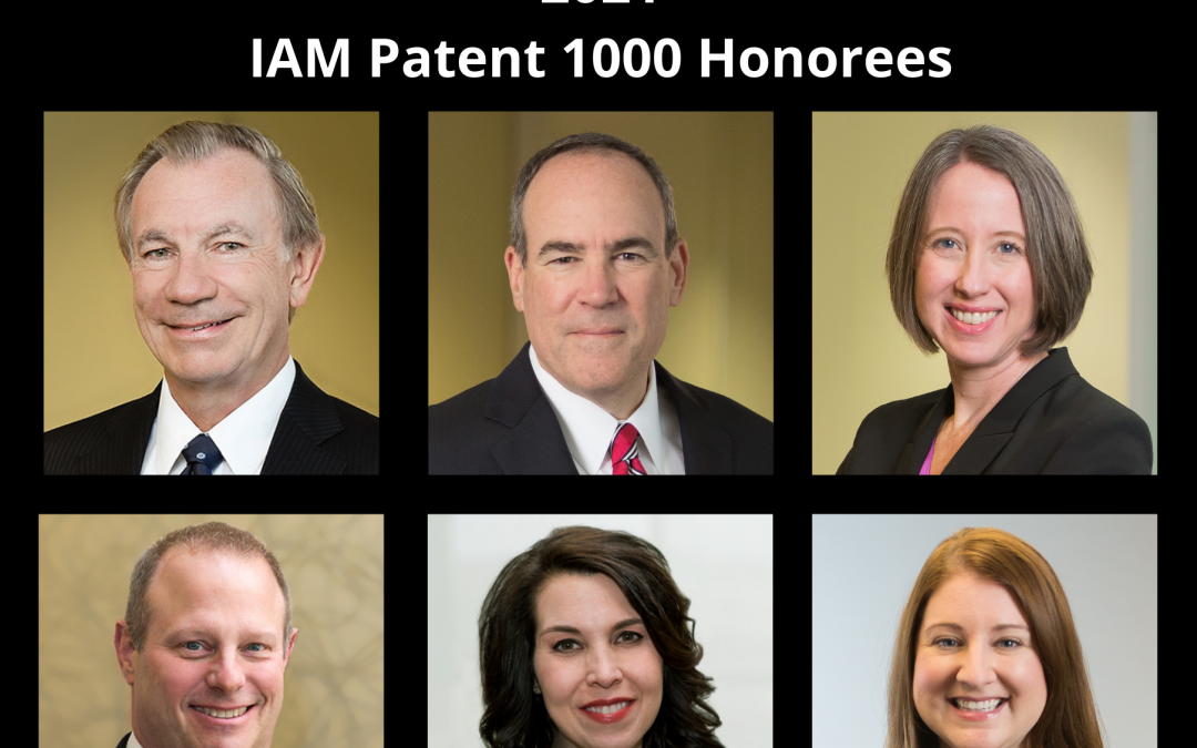 All Six Partners, Firm Receive IAM Patent 1000 Recognition